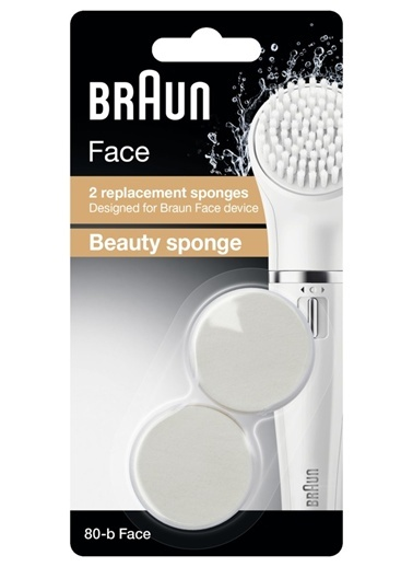Yedek Fırça Başlığı 2'li Paket-Braun